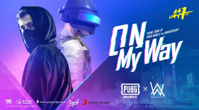 "PUBG MOBILE presenta el nuevo single de Alan Walker ""On My Way"" y 2.5 millones de dólares en premios para el PUBG Mobile Club Open"