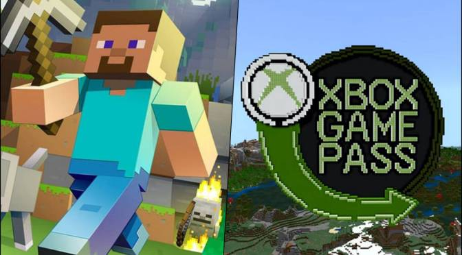 Minecraft ya esta disponible en Xbox Game Pass