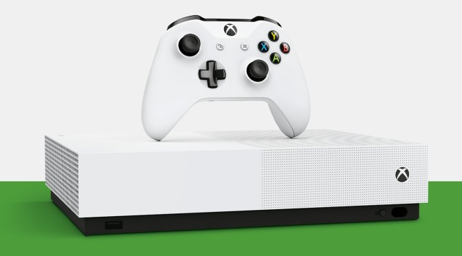 Conoce la Xbox One All Digital