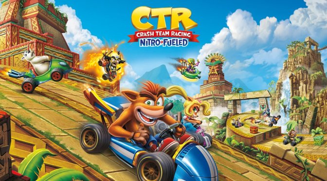 Se revela la portada oficial de Crash Team Racing Nitro Fueled