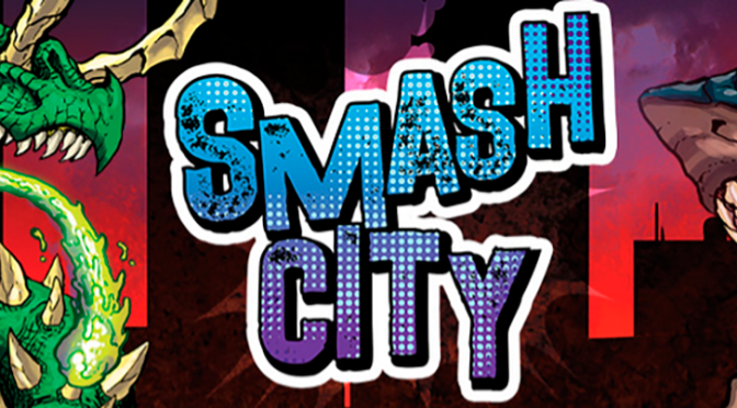 Wizkids: Coming Soon! Smash City, the action-packed game of Kaiju combat!