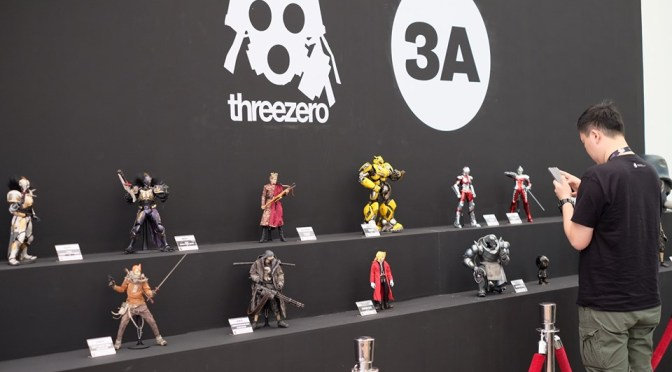 Threezero and 3A are present at Thailand Toy Expo 2019  and don't miss out on their exclusive gallery