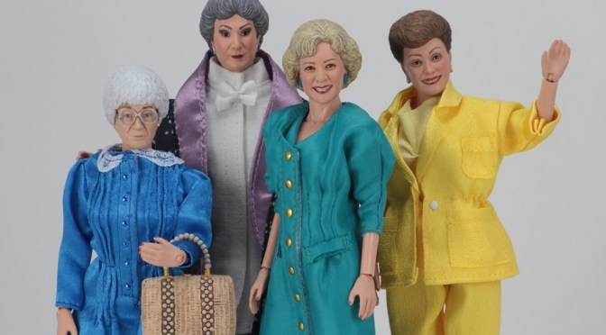 The Golden Girls – 8″ Clothed Action Figures are now available