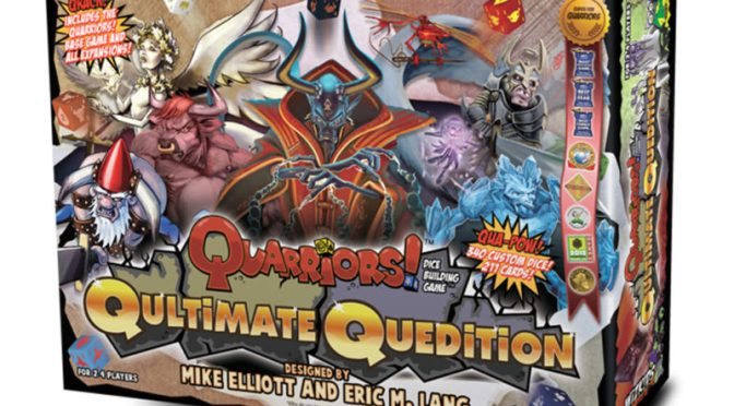 Coming soon! Quarriors! Qultimate Quedition