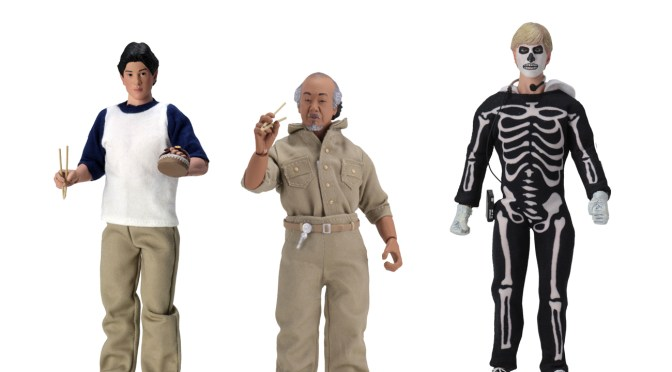 Shipping date for The KarateKid 8″ Cloth Action Figure has been confirm