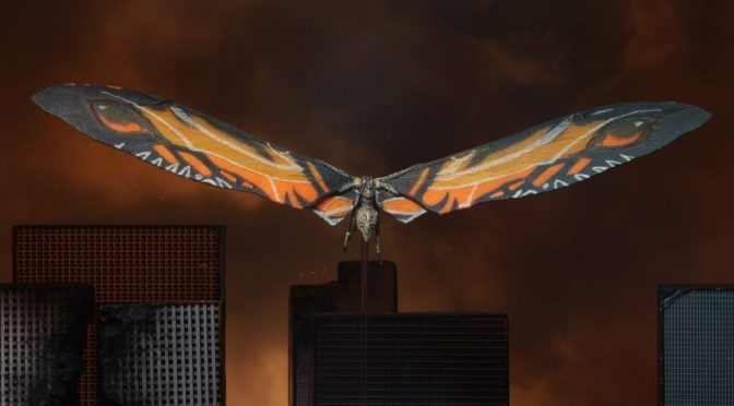 "Godzilla: King of Monsters -12"" Wing-to-Wing Action Figure – Mothra (2019)"
