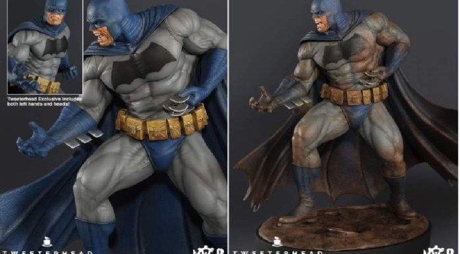 Tweeterhead: «Dark Knight» 1/6 th Batman Maquettes