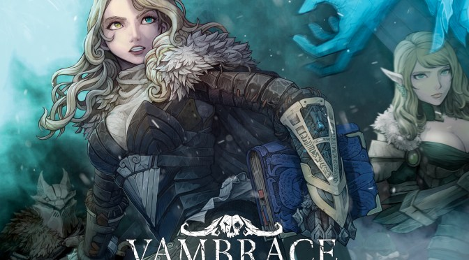 "Discover the world of ""Vambrace: Cold Soul"""