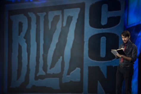 Host reading from 2018 Blizzcon