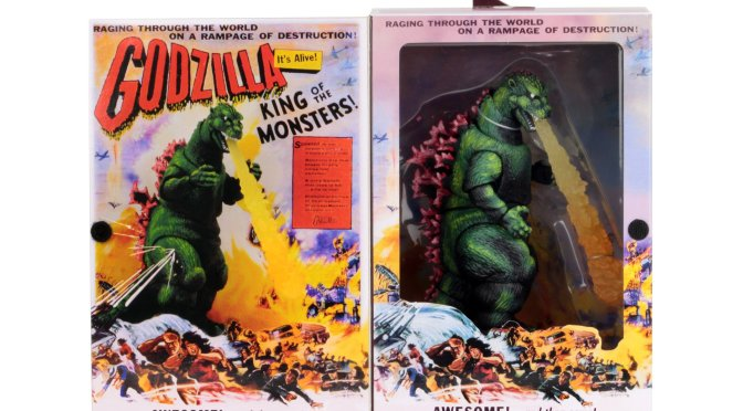 Godzilla 1956 Poster Version packaging reveal