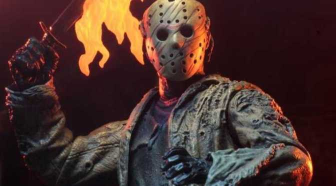 NECA revealed the final packaging photos for the Freddy vs Jason – Ultimate Jason