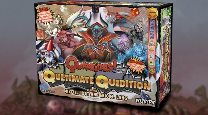Qapture the Quarry and Qomplete your Qollection with Quarriors! Qultimate Quedition —Available Now