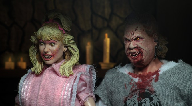 NECA is partnering up with Shout! Factory again to bring you an exclusive Night of the Demons 2-pack!