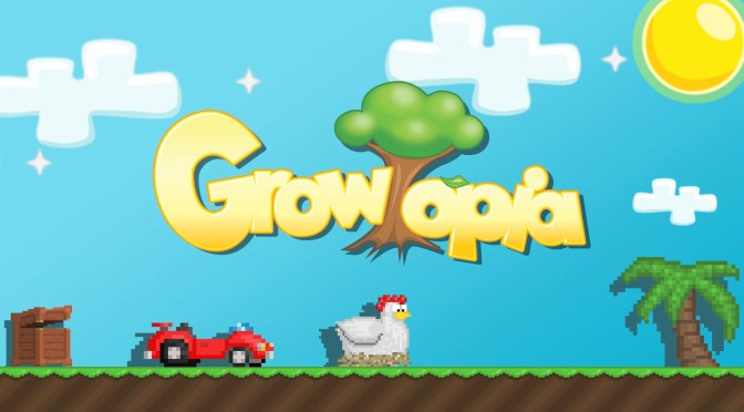 Crea tu mundo en Growtopia, disponible ahora para consolas