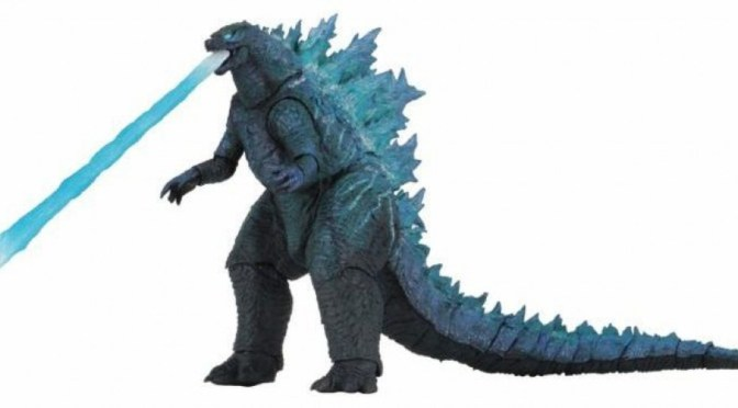 NECA: The Godzilla King of the Monsters 12″ v2 shipping to retailers on August 14th