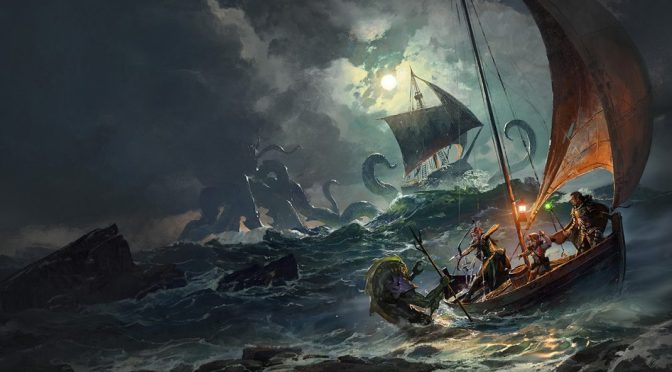 "DUNGEONS AND DRAGONS: Reseña del libro ""Ghosts of Saltmarsh"""