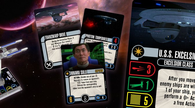 STAR TREK: ATTACK WING FACTION PACKS: THE ANIMATED SERIES & BORG: RESISTANCE IS FUTILE