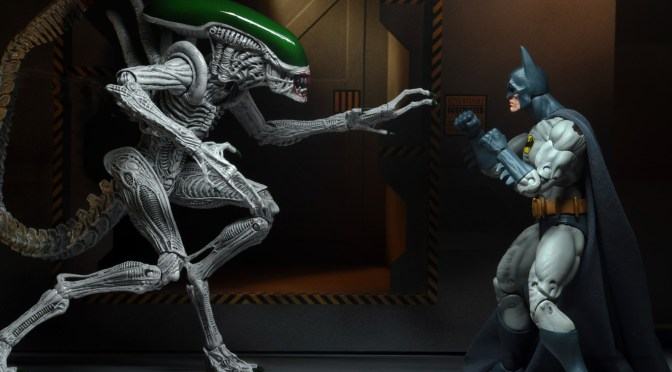 "Batman/Aliens – 7"" Scale Action Figures – Batman and ""Joker"" Alien 2-Pack"