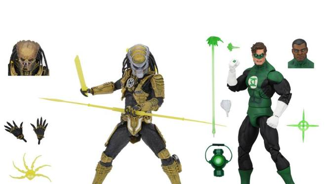 "Green Lantern (Classic) – 7"" Scale Action Figures – Green Lantern and ""Sinestro Corps"" Predator 2-Pack"