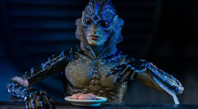 Now available in limited quantities 7″ Scale Action Figure – Amphibian Man(The Shape of Water)!
