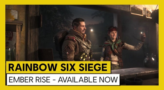 Operation Ember Rise de Rainbow Six Siege ¡ya está disponible!