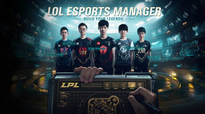 ¿Otro juego mas?, Riot anuncia: League of Legends Esports Manager