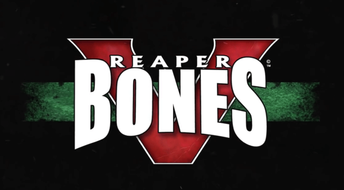 Join in the fun of painting Reaper Miniatures pledging for Reaper Bones V!