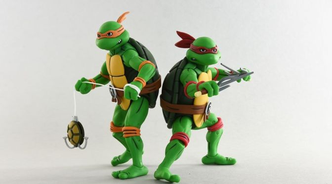 Some Target locations have started stocking the Teenage Mutant Ninja Turtles Cartoon Wave 2