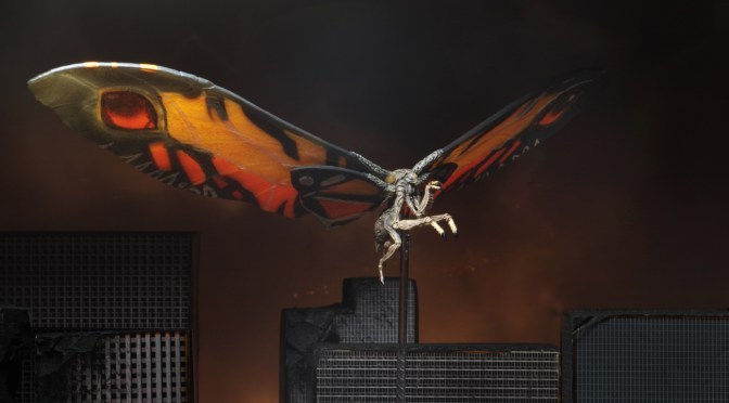 "Godzilla: King of the Monsters – 12″ Wing-to-Wing Action Figure – Mothra ""Poster Version"""