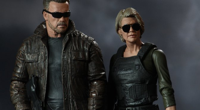 The Terminator Dark Fate Sarah Connor & T-800 are now available on the NECA eBay & Amazon store!