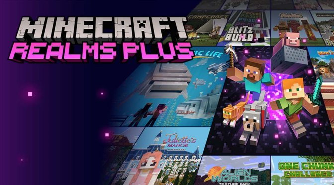 Minecraft Realms Plus ya se encuentra disponible!!!!