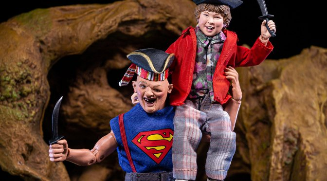 The Goonies – 8″ Cloth Action Figure – Sloth & Chunk 2-Pack now available on eBay & Amazon