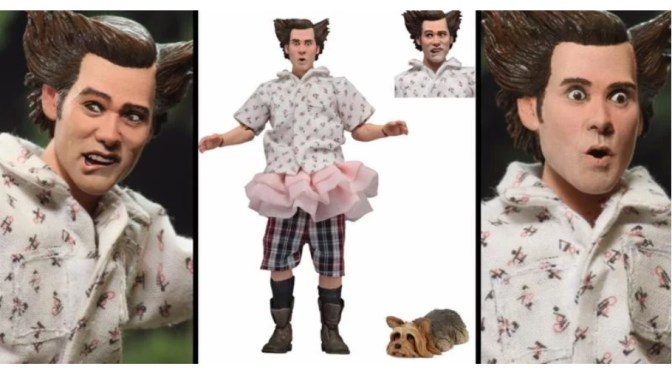 "NECA Announcement: Ace Ventura – 8"" Clothed Figure – Shady Acres Ace Ventura"