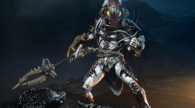 NECA: first look at the killer cover art for the Alpha Predator
