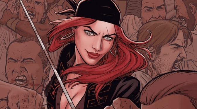 A SWASHBUCKLING ADVENTURE SETS SAIL THIS MAY IN NEW PIRATE SERIES A MAN AMONG YE FROM TOP COW