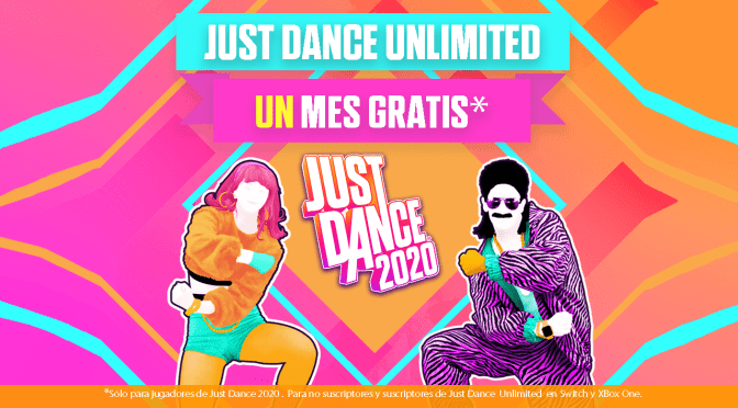MUÉVETE EN CASA CON JUST DANCE UNLIMITED GRATIS