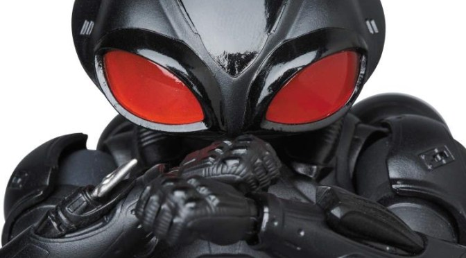 Aquaman Movie Black Manta Pre-orders from Mafex