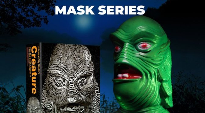 Now's your chance to get the new limited edition UniversalMonsters Mask Series!