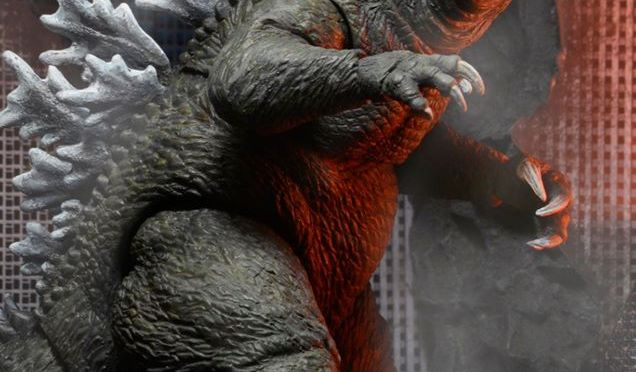 12″ Head-to-Tail Action Figure – 2001 Godzilla is now available on the NECA