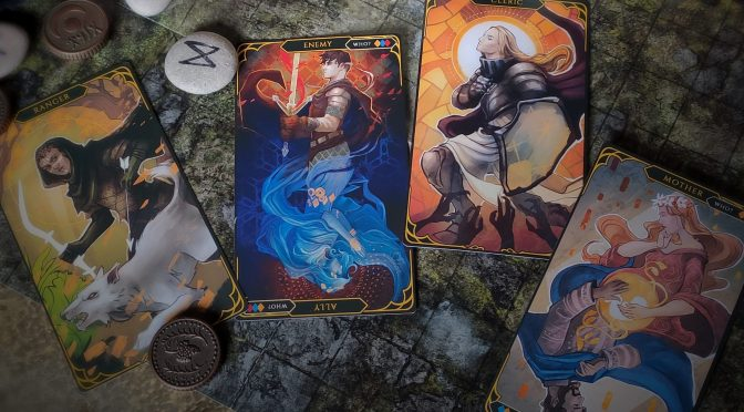 Meet FATUM, a beautiful tarot deck that will help you generate your characters