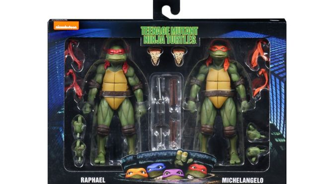 2-packs featuring Mikey & Raph and Leo & Donny will be available through Walmart in the coming months