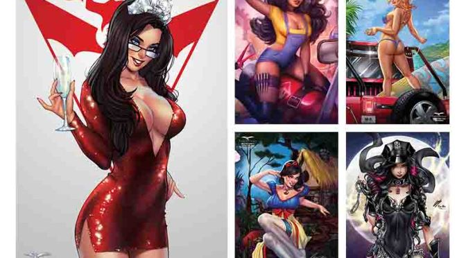 Zenescope 15th Birthday Virtual Con Packs are now available in webstore
