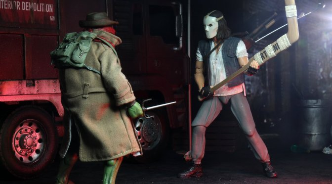 7″ Scale Action Figure – Casey Jones & Disguised Raphael 2-pack will be going live on Walmart