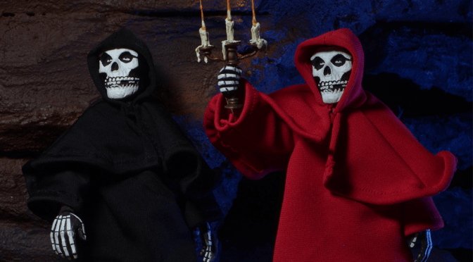 Now available in limited quantities  Misfits – 8″ Retro Style Clothed Figure – Fiend in Black Robes & Red Robes!