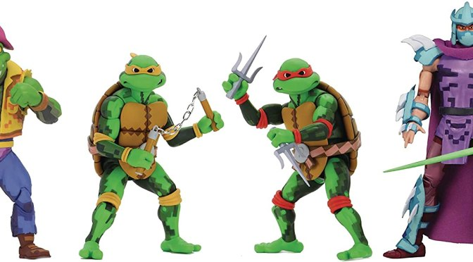 The Teenage Mutant Ninja Turtles Turtles in Time Wave 2 figures will be shipping out soon