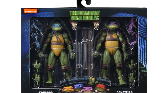 US Customers will be able to order the Teenage Mutant Ninja Turtles 1990 Turtle 2 Packs