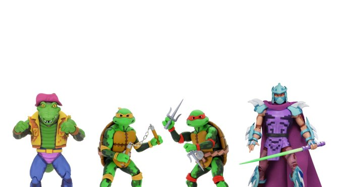 Now available in limited quantities on the #NECA eBay & Amazon  7″ Scale Action Figure – Turtles in Time Series 2 Assortment!