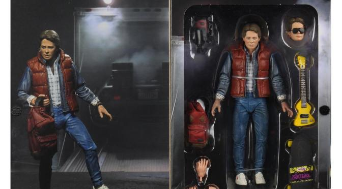 Ultimate Marty McFly from '85 pre-production sample and Ultimate Doc Brown