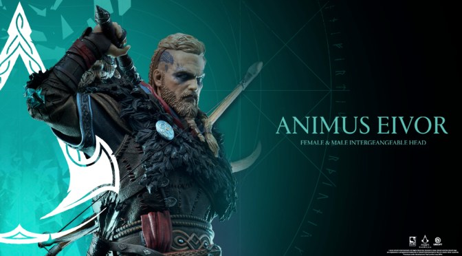 UBISOFT® Y PUREARTS PRESENTAN LA ESTATUA DE EIVOR PARA LA ANIMUS COLLECTION