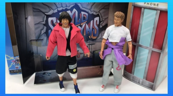 Shipping This Week Bill & Ted's Excellent Adventure (The Movie) 8″ Clothed Action Figure 2-Pack!